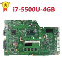 Original X751LD REV 2 0 i7 5500 4GB For ASUS X751L K751L X751LJ X751LN X751LK X751LX