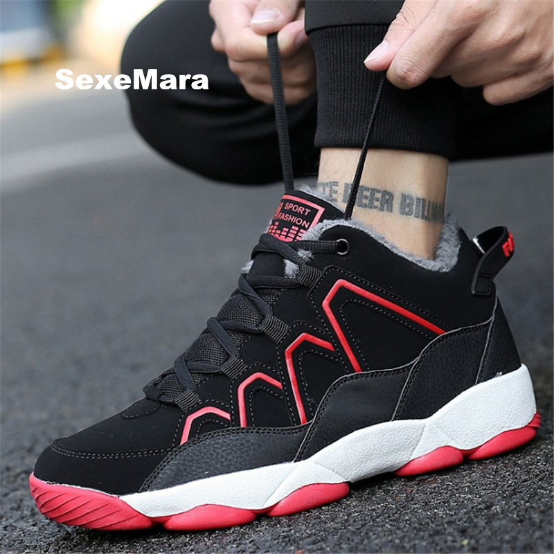 2017 High quality winter men casual shoes warm fashion wedge outdoor Unisex Fur Leisure tenis feminino zapatos hombre EU 35-44 2016 new unisex casual shoes footwear men women breathable outdoor sport skate shoes tenis feminino trainers zapatos hombre