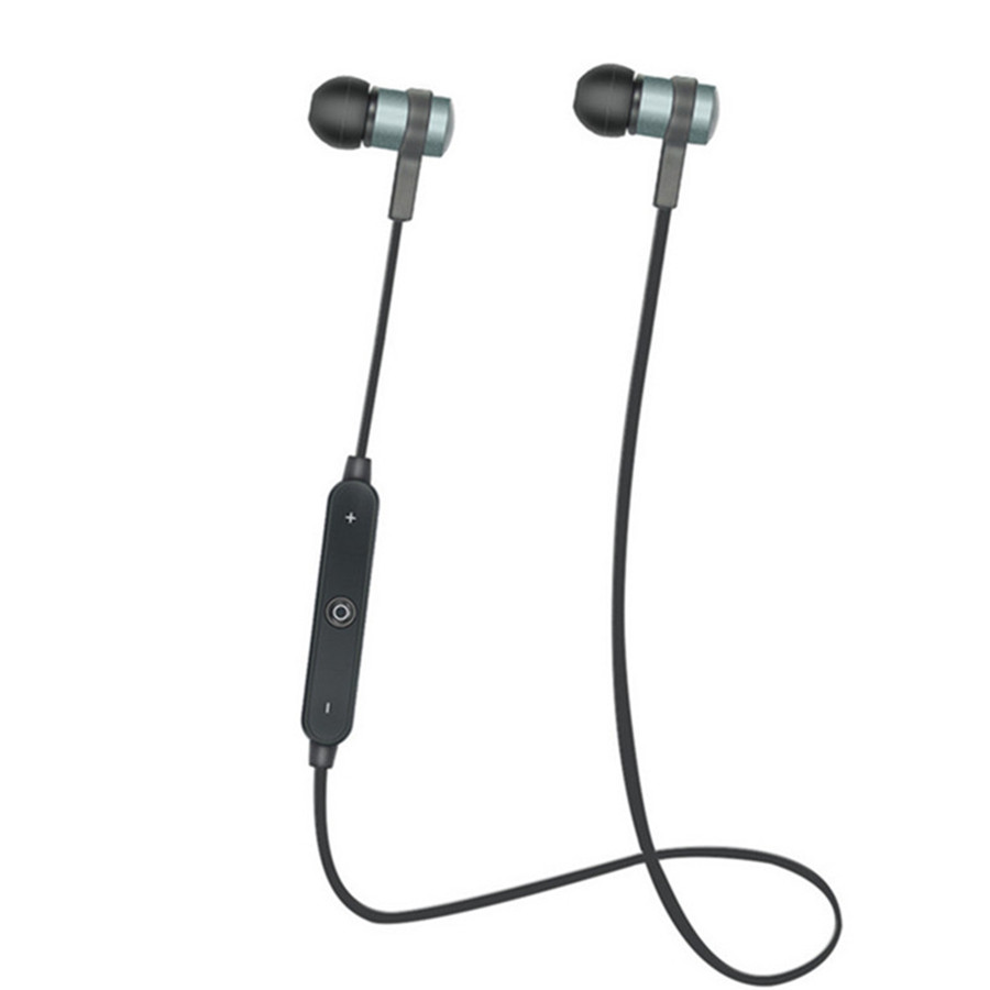 V4.2 Bluetooth Headset Wireless Earphone Headphone  Earpiece Sport Running Stereo Earbuds With Microphone For All Phone USB Char