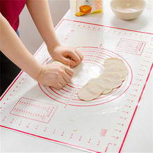 Здесь можно купить  1Pcs 60*40 cm Pastry Baking Mat Silicone Non-Stick Baking Mat Pad Dough Pastry Cake Kneading Grill Pad Clean Kitchen Sheet