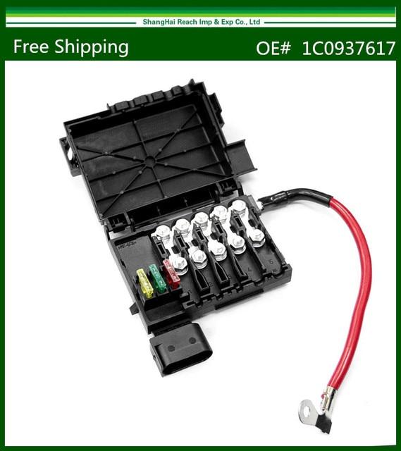 aliexpress com buy new fuse box for volkswagen golf jetta beetle new fuse box for volkswagen golf jetta beetle 98 99 00 01 02 03 1c0937617