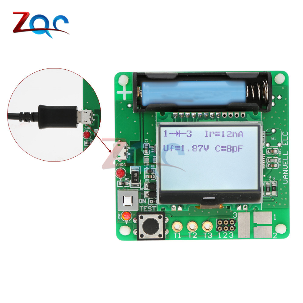 3.7V Version Of Inductor-capacitor ESR Meter DIY MG328 Multifunction Tester Resistance Meter