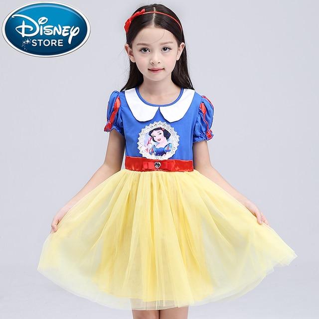 f893eb7b6949 Disney Frozen Dresses Girls elsa dress costumes kid Cosplay party Dress  princess anna dresses elza vestidos infants for children