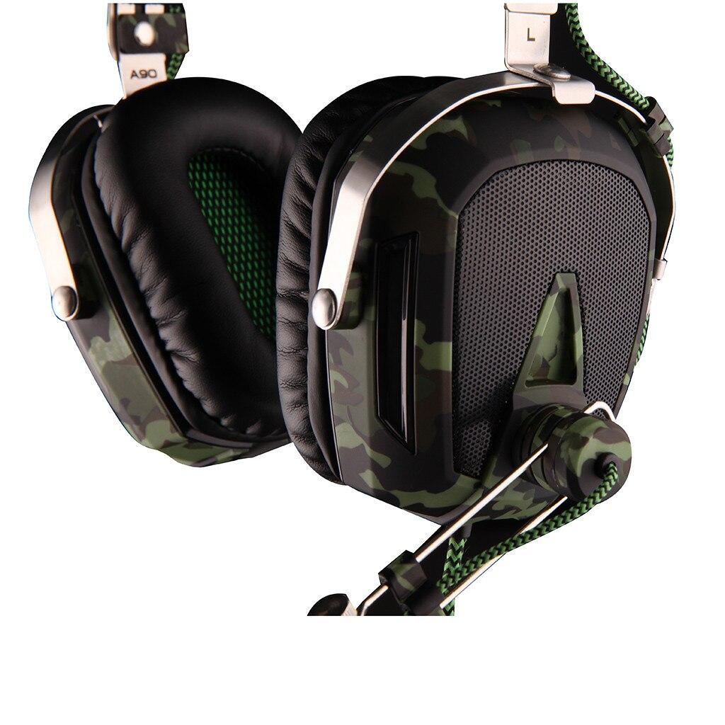 Auriculares estéreo con cable SADES A90 USB 7,1 para Gaming, auriculares con micrófono y Control de voz para ordenador portátil 517 #2 - 4