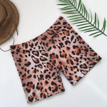 Womail Women shorts Fashion Leopard Print Sexy Swimwear Beachwear Siamese Swimsuit Shorts shorts Daily denim color dropship j24 4
