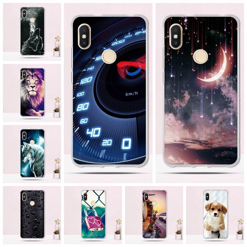 6d61cb31c2b Soft Silicone Case for Xiaomi Redmi S2   Redmi Y2 Case TPU Back Cover for  Xiaomi