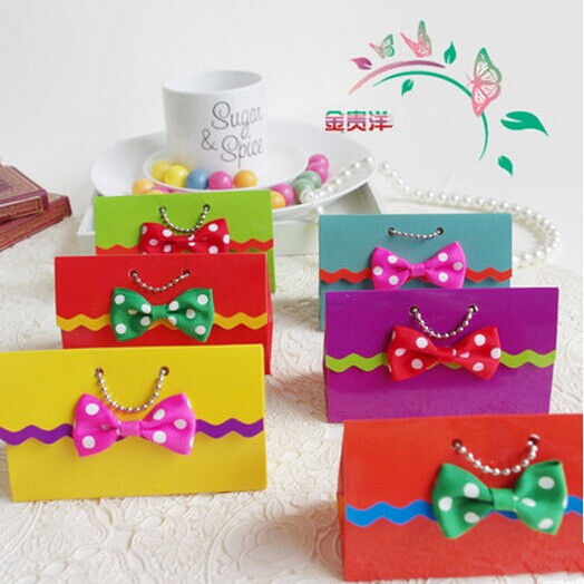 Wedding Candy Box Handbag Personalized Boxes Christmas Bags Baby 1st Birthday Party