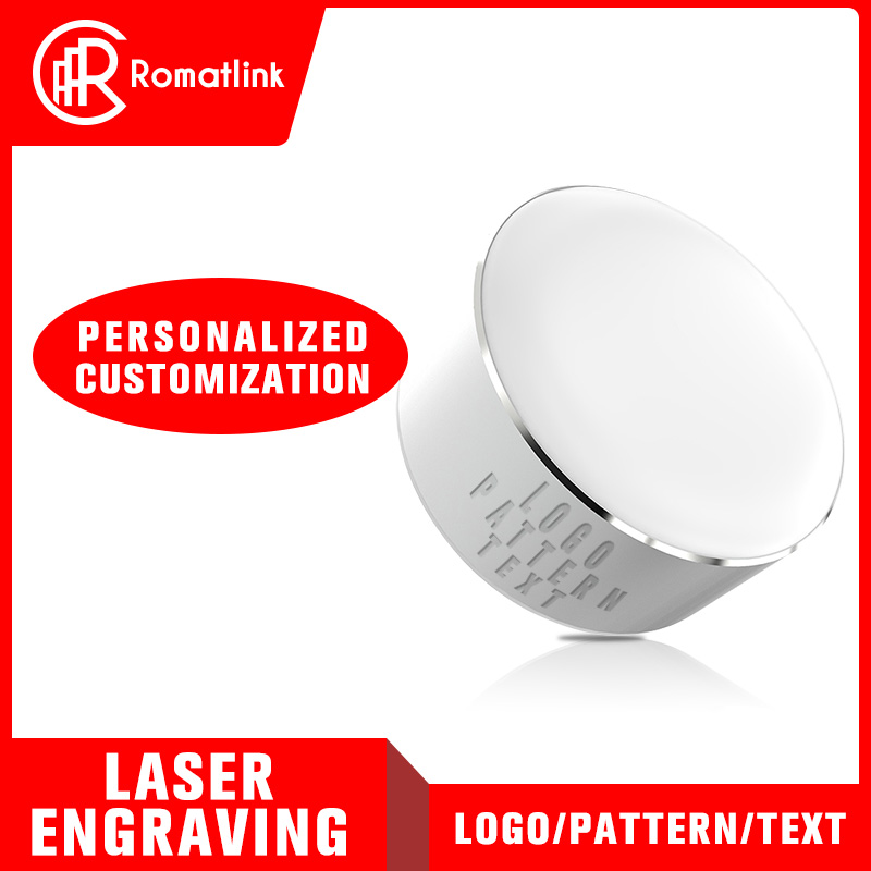Romatlink Customizable Logo Adjustable Personality LED light Dual USB Mobile Phone Universal Charger Adapter For Holiday Gift