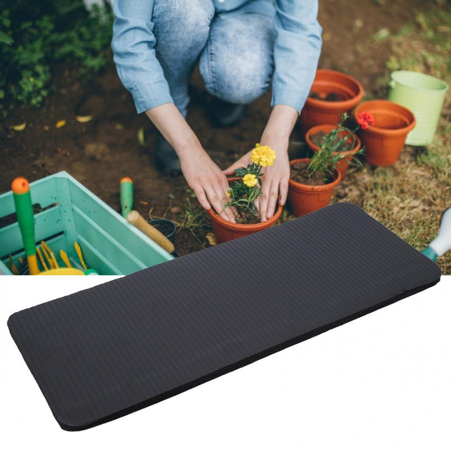 Black Color EVA Lightweight Garden Kneeling Pad High Density Foam Thick Knee Mat Protector for Gardening Working Tools