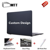 MTT Custom Design Case For Macbook Air Pro Retina 11 12 13 15 Touch Bar 2018 New Cover for macbook pro 13 15 inch Laptop Sleeve