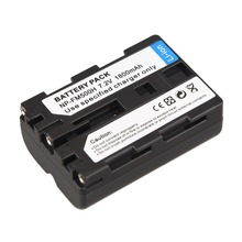 1Pcs 1800mAh NP-FM500H NP FM500H Camera Battery For Sony A57 A58 A65 A77 A99 A550 A560 A580 Battery for NP-FM500H