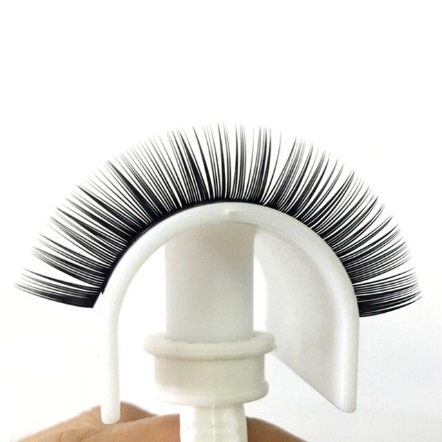MASSCAKU 16rows/case 8~16mm and mix premium natural synthetic mink individual eyelash extension makeup cilia professional 5