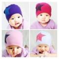 Unisex baby boy girl cotton caps niño sombrero infantil lindo del estampado de estrellas bebé gorros accesorios