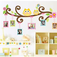 3D wall stickers romance decoration wall poster home decor DIY baby room wallpaper for kids room door sticker home kids decor