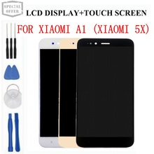 Affichage pour XiaoMi Mi 5x A1 LCD affichage + écran tactile numériseur assemblée remplacement + outils + adhésif pour XiaoMi Mi 5x téléphone