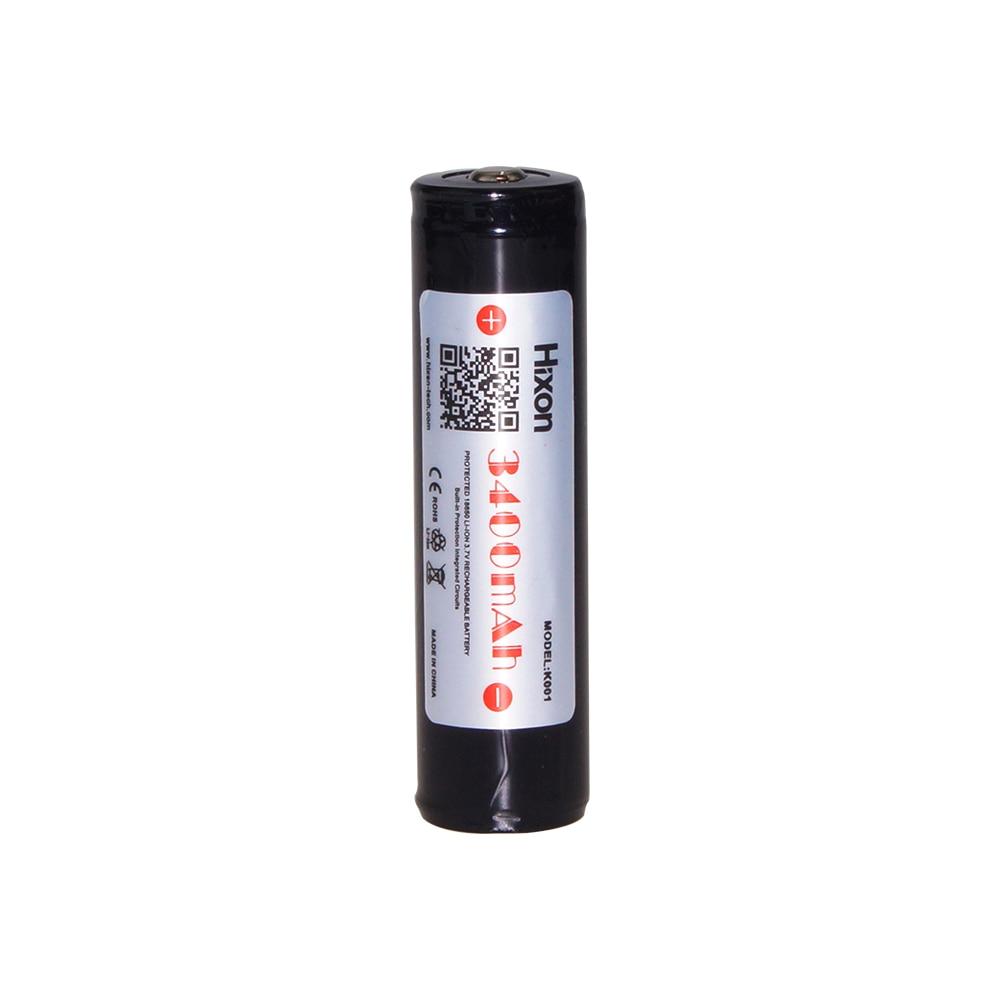 Hixon Protected Panasonic NCR18650B 3400mAh Rechargeable Li-ion Battery With PCB