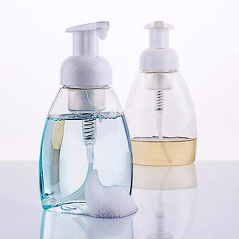 1pcs 250ml300ml foaming bottle whipped mousse points bottling fine shampoo lotion refillable bottles foam pump soap dispenser - Foam Soap Dispenser