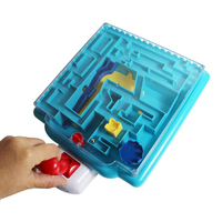 Magical Intellect Toys For Children Education Magic Castle Toys 3D Magic Maze Ball Toys For Early