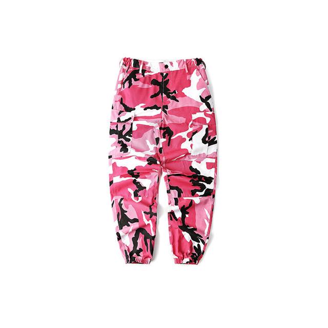 New Fashion Bib Overall Pants Ins Network With Bdu Pant Streetwear Militar Camouflage Pants Skateboard Dark Soul Dance Pants