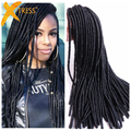 20 Strands 90g/Pack Dread Faux Locs Crochet Braids Hair Havana Twist 20inch Synthetic Hair Dreadlocks Braids For Beautiful Women