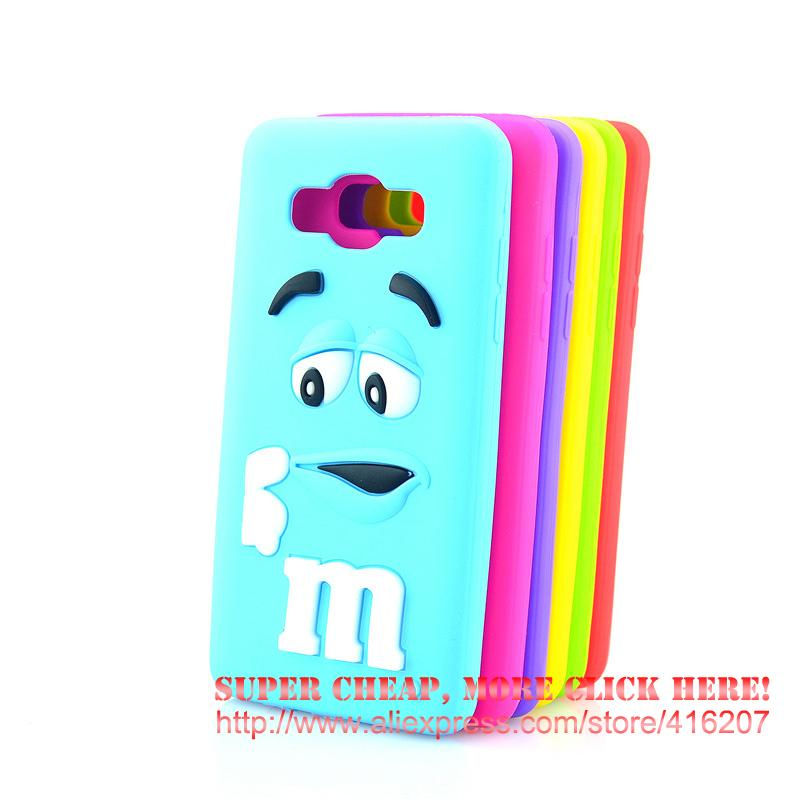 For <font><b>Samsung</b></font> Galaxy J5 (<font><b>2016</b></font>) <font><b>J510</b></font> SM-J510F Case Chocolate Candy Silicone Rubber Cases Covers Phone Case image
