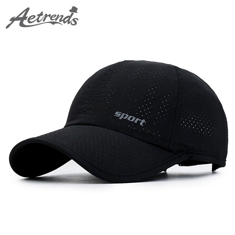 [AETRENDS] Mesh Hat Summer   Baseball     Cap   Russia Sports   Caps   Men Black Cappello   Baseball   Mens Hats Women   Cap   Outdoor Z-5231