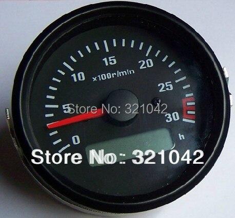 Engine tachometer engine dedicated tachometer 85mm mounting speed meter vc6234p vc6235p vc6236p tachometer speed meter