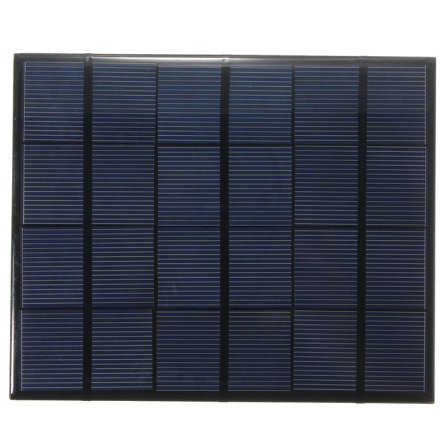 165*135*2mm 3.5W 6V 583mA Monocrystalline Silicon Epoxy Mini Solar Panel Solar Module System Solar Cells DIY Battery Charger