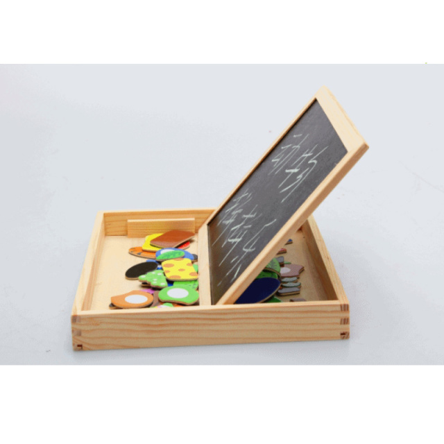 Wooden Multifunction Writing And Drawing Board With Magnets