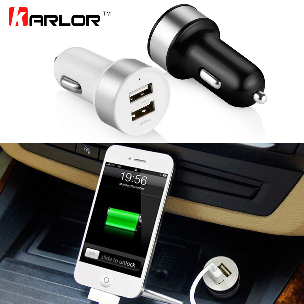 Car Charger Dual Usb Output 3 1a Fast Charging Mobile