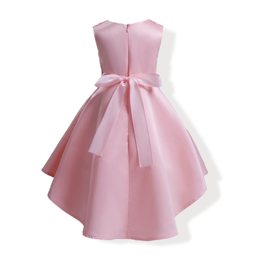 Elegante niñas princesa infantil vestido de partido niños vestidos ...