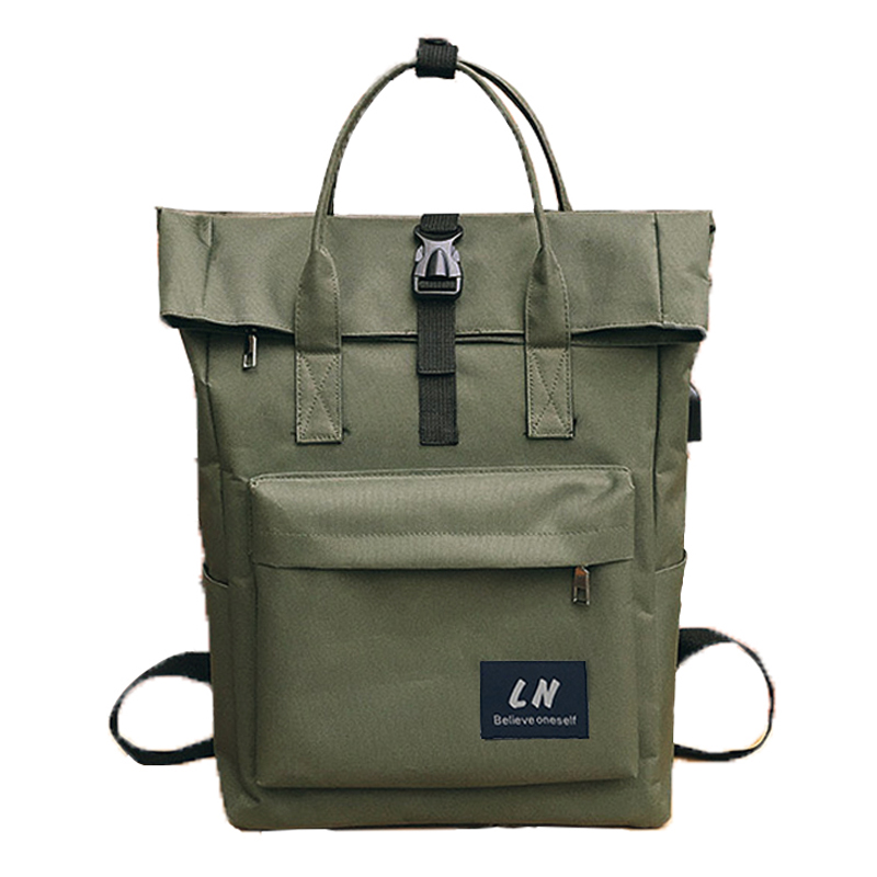 74bbaa490d392 Comprar Mulheres Mochila Feminino Masculino bolsa de Viagem Mochila Laptop  Homens de Carga USB Externo pacote de Saco De Escola para Meninos  Adolescentes ...