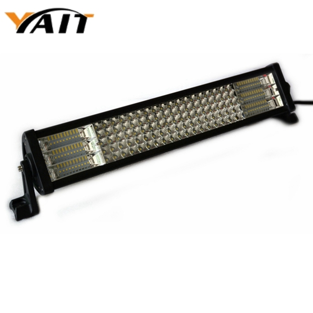 Yait 5 Row LED Light Bar 450W 24 inch Combo 12V 24V IP67