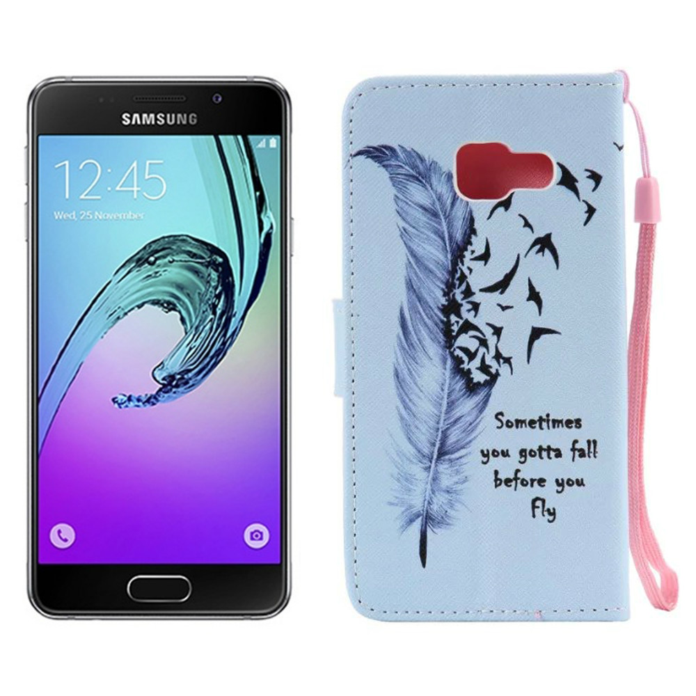 Pu leather case for samsung galaxy a7 2016 a710 peacock feather - Pu Leather Case For Samsung Galaxy A7 2016 A710 Peacock Feather Pu Leather Protective Case