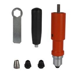 Elektryczna nitownica do nitonakrętek narzędzie do nitowania akumulatorowa nitownica adapter nakrętka typu Insert narzędzia odpowiednie 3.2-4.8mm Pull nitownica