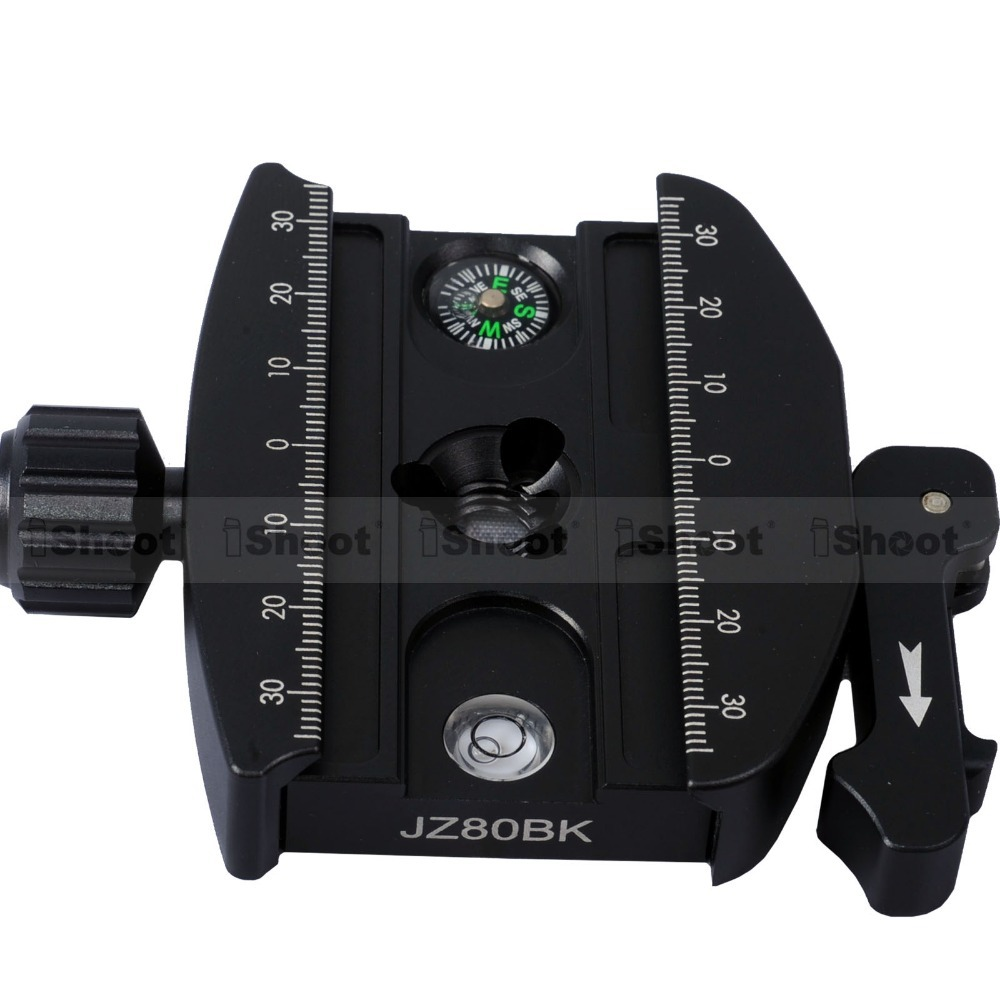 Metal Lever Clamp for Gitzo GH1780 GH2780 GH3780 Series & RRS Tripod Ball Head and RRS ARCA-SWISS Fit Camera Quick Release Plate