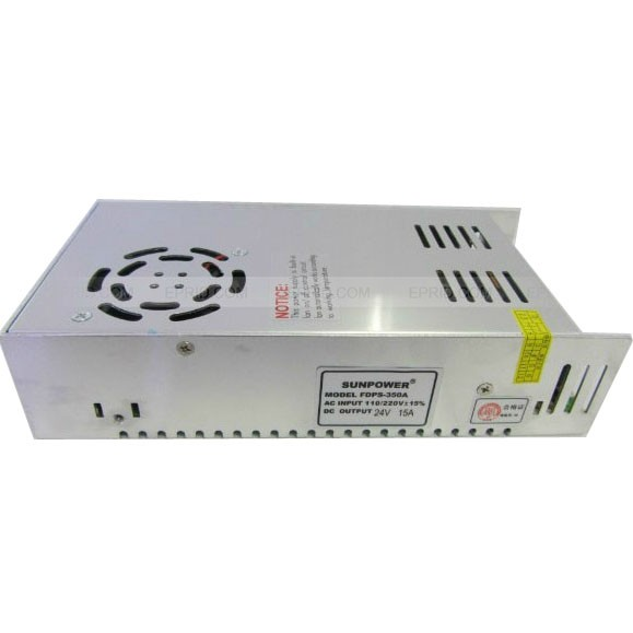 AC 110V/220V to DC 24V 15A 360W Voltage Transformer Switch Power Supply for Led Strip ac 110v 220v to dc 12v 15a 180w voltage transformer switch power supply for led strip