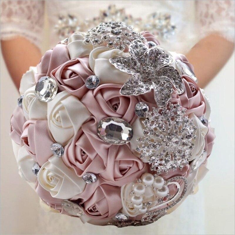 hot sale luxury gorgeous wedding bridal bouquets elegant pearl bride bridesmaid wedding bouquet. Black Bedroom Furniture Sets. Home Design Ideas