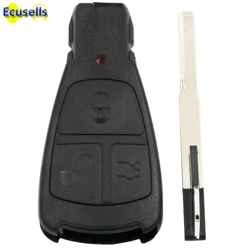 For Mercedes For Benz C E S Class Uncut Keyless Remote Key