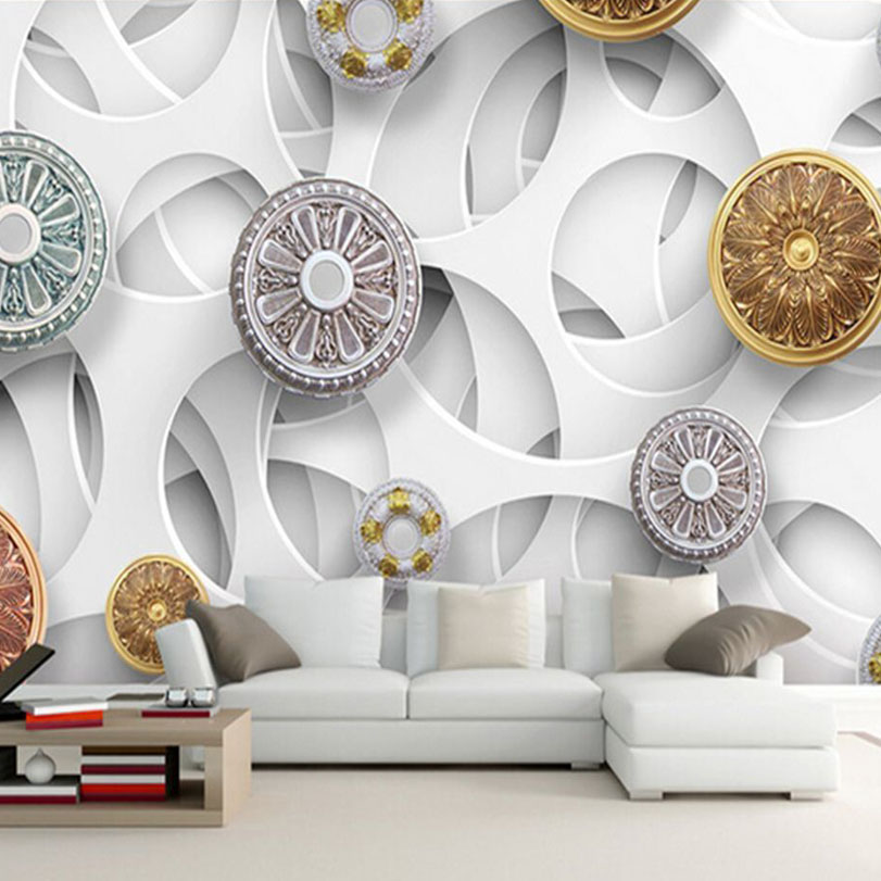 Artistic Wall Design amazing 19 artistic wall design on patterns for window painting craftscelebrate every season Custom Mural Wallpaper Designs Creative Modern Abstract Artistic Cycle Wall Mural 3d Non Woven Wall Paper For Bedroom Backdrop