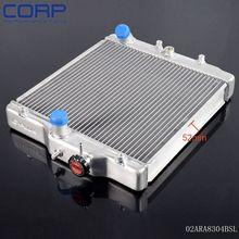3 ряд 52 мм gplus алюминиевый радиатор для honda civic ek е. г. b16a b18c dohc 92-00