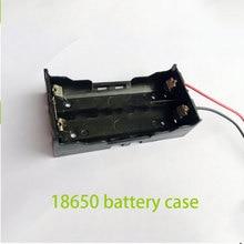 100pcs Hot 18650 Battery Case Box Storage Holder 7.4V Batteries Container For 2pcs 18650 Batteries Plastic Box Cell Wholesale