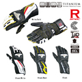 KOM INE GK - 149 Titanium Racing glove Leather Glove  motorcycle motorbike  gloves  4 color Size S  M  L  XL 2XL