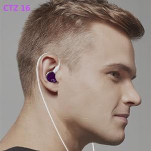 Image 5 - أحدث CTZ 32BA أحادية 16BA في الأذن سماعة مخصص متوازن حديد حول الأذن سماعة مع 0.78 مللي متر 2PIN التوصيل سماعة