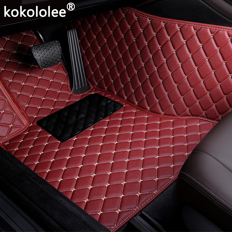 Car Floor Mats For Lexus GT200 ES240 ES250 ES350 GX460 GX470 <font><b>GX400</b></font> GS300 GS350 GS450 IS430 LS460 LS600 LX570 Custom accessories image
