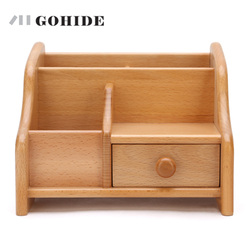 JUHD High Quality Simple Desktop Shelves Storage Box Desk Decor Stationery Makeup Cosmetic Organizer for Jewelry Stationery ZLCP