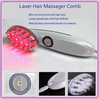 3 IN 1 Electric IPL Laser Hair Growth Bio Microcurrent Hair Follicle Scalp Stimulator Massager Comb