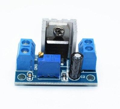 1 pièces LM317 LM317T DC-DC abaisseur DC convertisseur module d'alimentation de carte