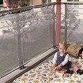 Новый 1 Шт. дети утолщение ограждения защиты чистая балкон ребенок забор ребенок младенческой безопасности забор сетка для ребенка играть бесплатно доставка