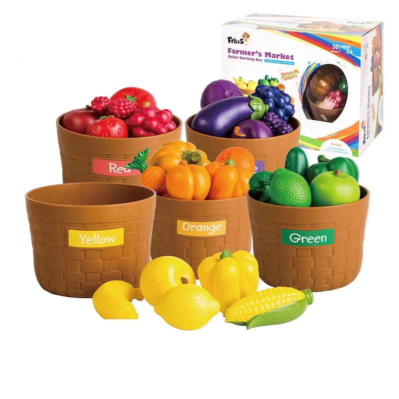 Домашняя игрушка, детский сад, растительный фрукт, модель, моделирование, детское питание, познавательное, раннее образование, головоломка, пластиковые игрушки